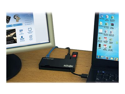 Tripp Lite USB 3.0 HDMI VGA Mini Docking Station with Gigabit Ethernet, U342-SHG-001