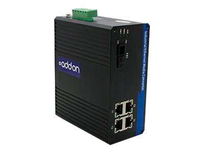 ACP-EP AddOn 1GBS 4 RJ-45 TO 1 SC  Media Converter, ADD-IGMC-BXD-1SC4