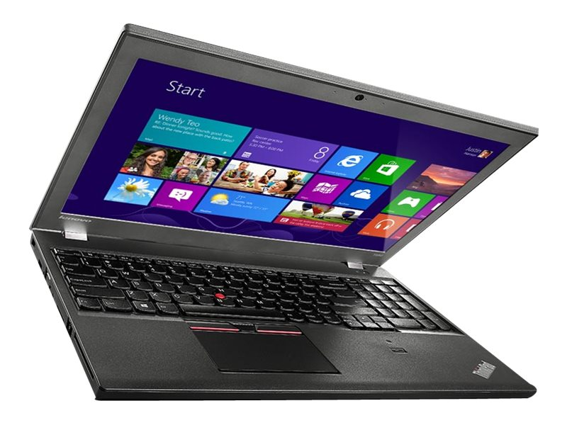 Lenovo TopSeller ThinkPad T550 2.2GHz Core i5 15.6in display, 20CK000GUS, 18447521, Notebooks