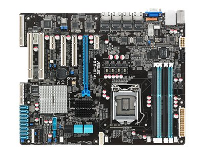 Asus Motherboard, P9D-E 4L ATX C224 AST2300 Max.32GB DDR3, 90SB02Z0-M0UAY0, 15792274, Motherboards