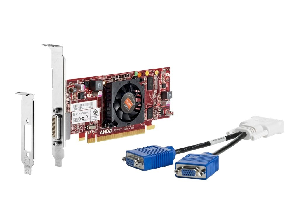 HP AMD Radeon HD 8350 PCIe x16 Graphics Card, 1GB DDR3