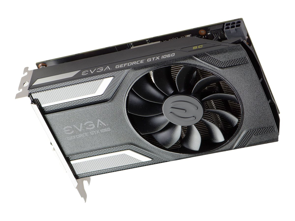eVGA GeForce GTX 1060 PCIe 3.0 x16 Superclocked Graphics Card, 6GB GDDR5