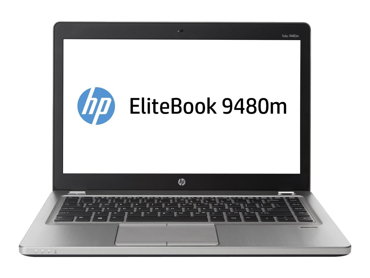 HP EliteBook Folio 9480M 1.7GHz Core i5 14in display, K4M53UT#ABA, 17988457, Notebooks