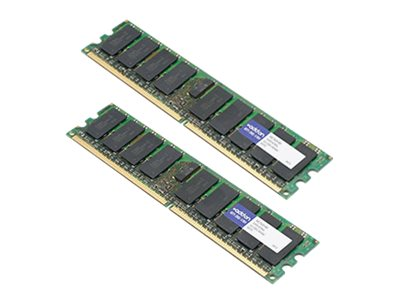 ACP-EP 8GB PC2-5300 240-pin DDR2 SDRAM FBDIMM Kit for BladeCenter HS21, HS21 XM, IntelliStation Z Pro, 46C7420-AM, 18201687, Memory