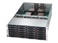 Supermicro SuperChassis 848A 4U RM (4x)Intel AMD Family 24x3.5 HS SAS SATA Bays 11xPCI 6xFans 2x1620W, CSE-848A-R1K62B, 15485055, Cases - Systems/Servers