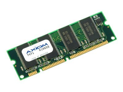 Axiom 4GB DRAM Memory Upgrade Kit for Wide Area Application Engine 612 Security, 674, 7341, 7371, AXCS-WAE-4GB, 14313948, Memory