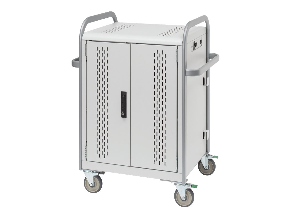 Bretford Manufacturing Computer Storage Cart for 30 Tablets, MDMTAB30-CTAL