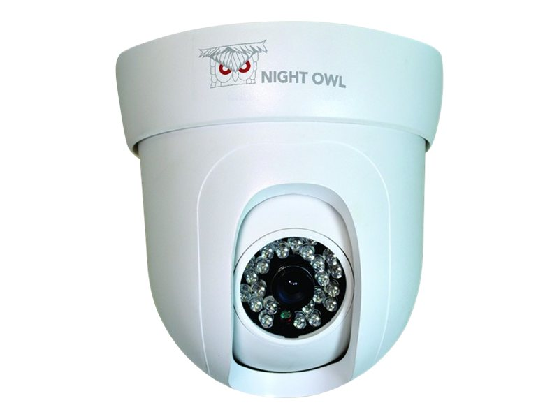 Night Owl 600 TVL Pan & Tilt Indoor Camera, CAM-PT624-W, 16880217, Cameras - Security