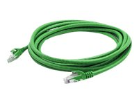 Add On Cat6 UTP PVC Copper Patch Cable, Green, 1000ft