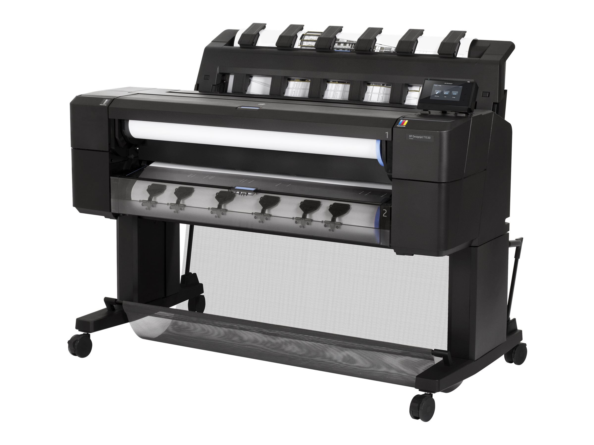 HP DesignJet T1530 36 Postscript Printer w  Encrypted Hard Drive, L2Y24B#BCB, 30899387, Printers - Large Format