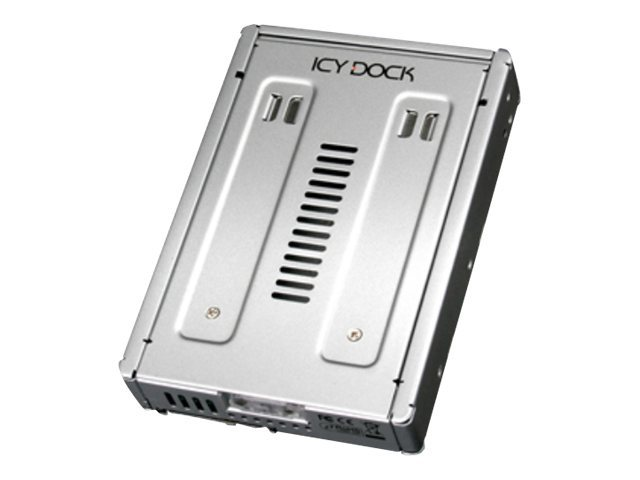 Icy Dock FullMetal 2.5 SAS Dual Hard Drive Solid State Drive