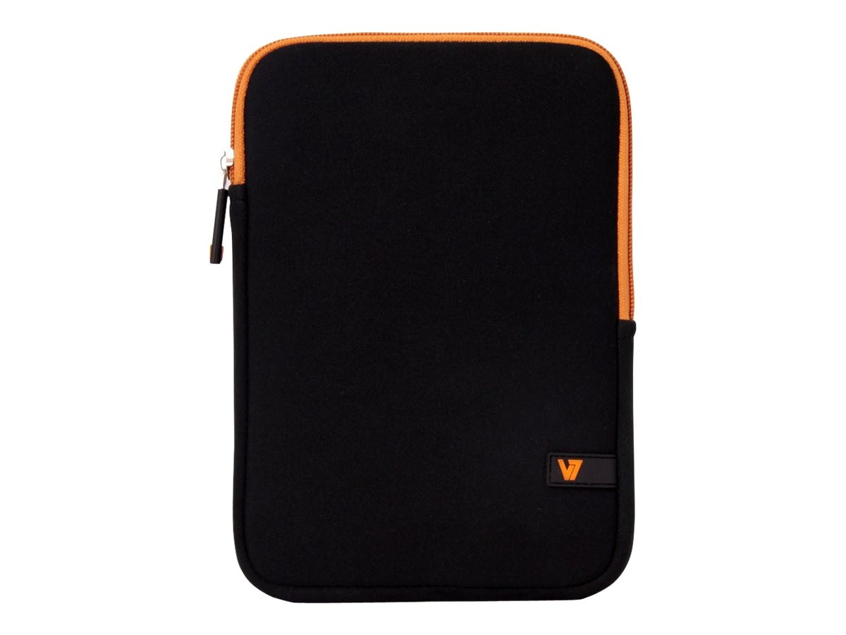 V7 Ultra Protective Sleeve for Tablet 8, iPad mini Retina Display, Black Orange, TDM23BLK-OG-2N, 16584805, Protective & Dust Covers