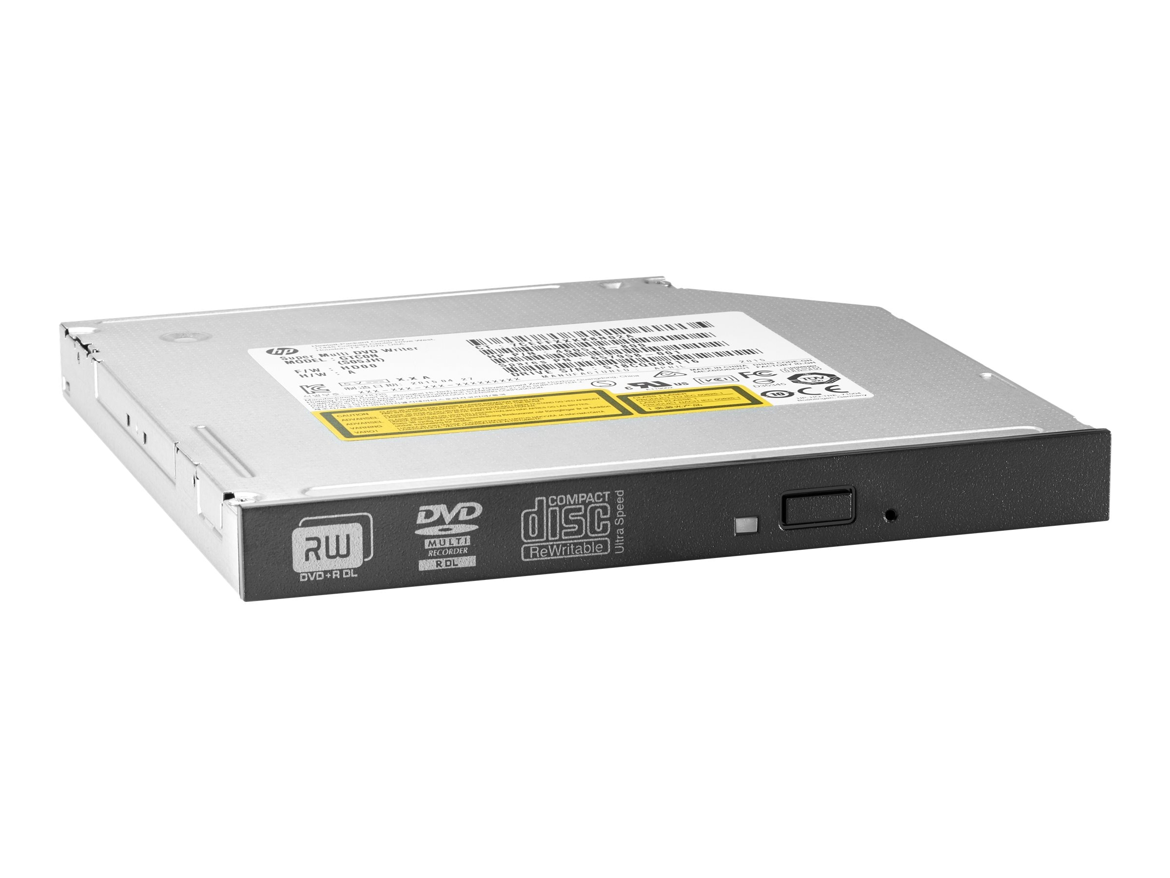 HP 9.5mm Desktop G2 Slim DVD-Writer Drive, N1M42AA