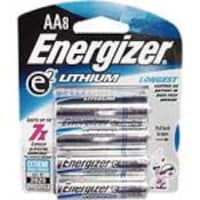 Energizer Lithium AA Battery, 8-Pack, L91BP8, 7338581, Batteries - Other