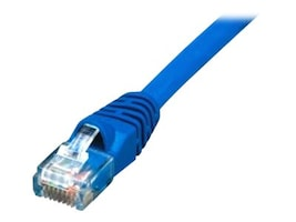 Comprehensive Cat5e 350MHz Snagless Patch Cable, Blue, 25ft, CAT5-350-25BLU, 14774648, Cables