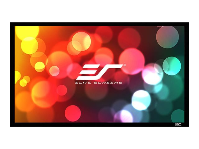 Elite 120 Diagonal Sable Fixed Acoustic Pro 1080P3 Screen, ER120WH1-A1080P3, 17714659, Projector Screens