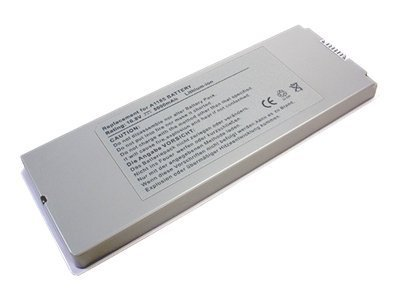 Ereplacements Laptop battery for Apple Macbook 13 inch white, 661-3958, 661-4254, 661-4413, 661-4571