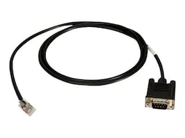 Digi RJ-45 (M) to DB9 (M) Cable, 4ft, 76000240, 185116, Cables