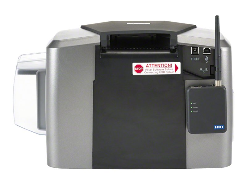 Fargo Electronics DTC1250e SINGLE SIDE PRINTER BUNDLE W  ASURE ID SOLO, 050600