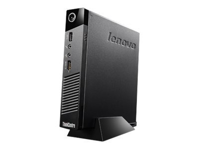 Lenovo TopSeller ThinkCentre M53 Tiny Thin Client Celeron J1800 2.4GHz 2GB RAM 16GB Flash GbE bgn BT WES7, 10ED0008US, 18654846, Thin Client Hardware