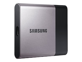 Samsung 250GB T3 Portable Solid State Drive, MU-PT250B/AM, 31500681, Solid State Drives - External