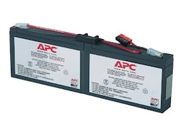 APC Replacement Battery Cartridge #18 for PS250, PS450, SC250RM, SC450RM models, RBC18, 204090, Batteries - Other
