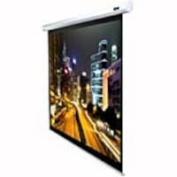 Elite Economy Electric Projection Screen, White Case, 100in, ELECTRIC100V, 7386372, Projector Screens