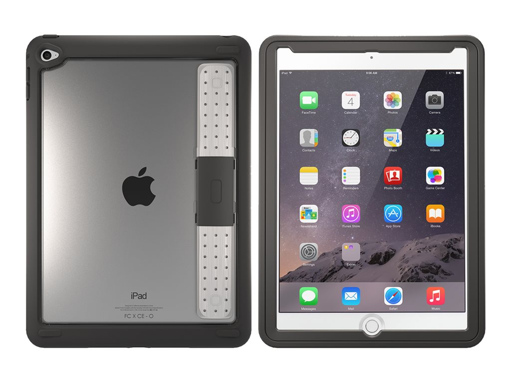 OtterBox Unlimited w  Screen for iPad Air 2, Pro Pack, Gray, 77-52019, 28342264, Carrying Cases - Tablets & eReaders