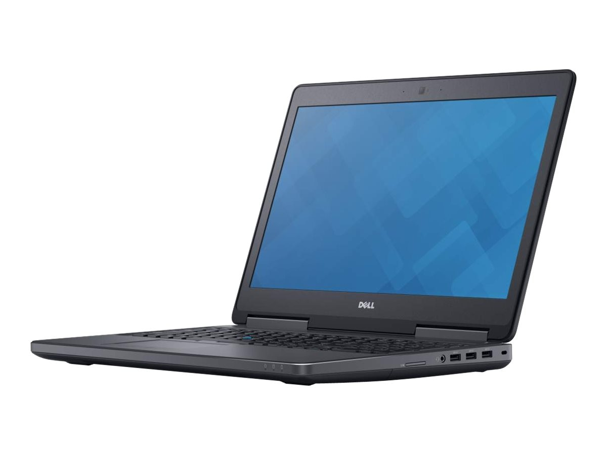 Dell Precision 7510 Core i7-6820HQ 2.7GHz 8GB 256GB PCIe ac BT WC 6C M1000M 15.6 FHD W7P64-W10