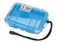 Pelican 1020 Clear Micro Case, Blue, 1020-026-100, 11747425, Protective & Dust Covers