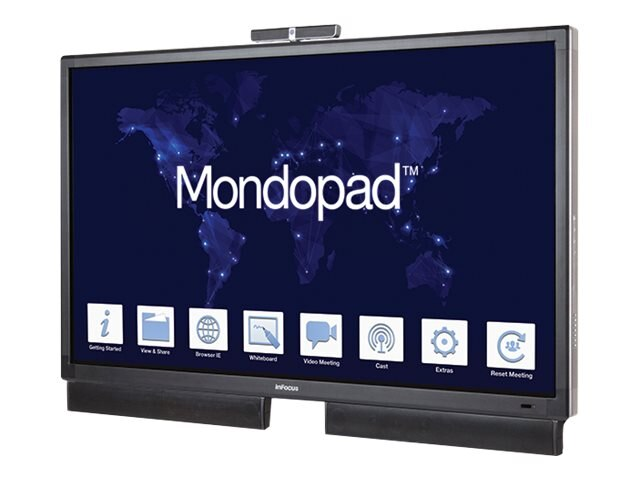 InFocus 80 Mondopad Touchscreen Display (Must Order SKU RW1307 Also), INF8021K, 31389039, Audio/Video Conference Hardware