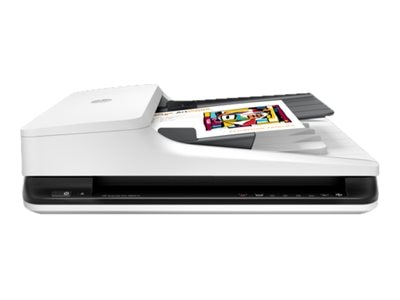 HP Scanjet Pro 2500 F1 Flatbed Scanner Commercial, L2747A#BGJ, 30549213, Scanners