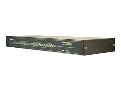 IOGEAR 8-Port KVM Switch PS 2 1U Auto Scan, GCS78