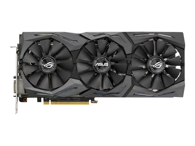 Asus NVIDIA GeForce GTX 1080 PCIe 3.0 Graphics Card, 8GB GDDR5X, STRIX-GTX1080-A8G-GAMING