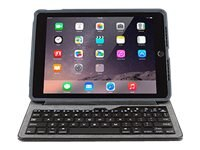 OtterBox Agility Leather Portfolio Bundle w  Keyboard for iPad Air, Black