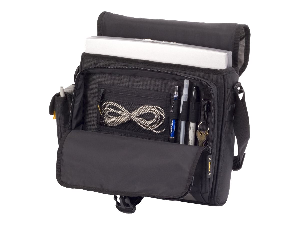 Targus CityGear Atlanta Messenger Case, Black, TCG213T, 7065579, Carrying Cases - Notebook