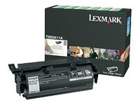 Lexmark Black Return Program Toner Cartridge for T650, T652 & T654 Series Printers, T650A11A, 9163789, Toner and Imaging Components