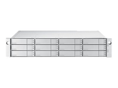 Promise 96TB 2U 12-Bay FC 16Gb s Single Controller RAID Subsystem w  12X8TB SAS 12Gb s 7.2K RPM Hard Drives