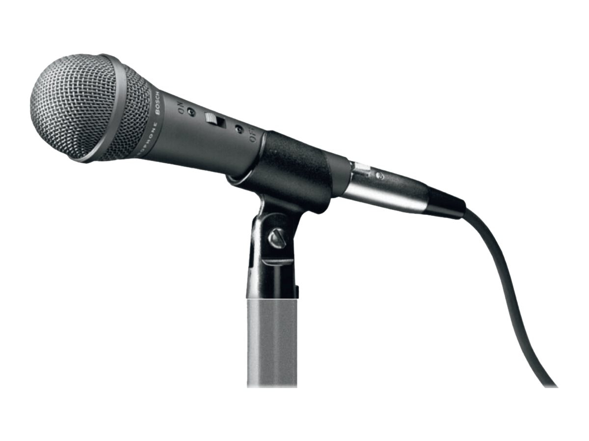 Electro-Voice Handheld Dynamic Microphone with XLR Male Plug