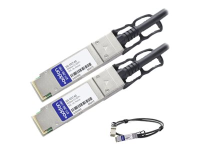 ACP-EP Dell Compatible 40GBase-CU QSFP+ to QSFP+ Direct Attach Cable, 1m, 331-5217-AO