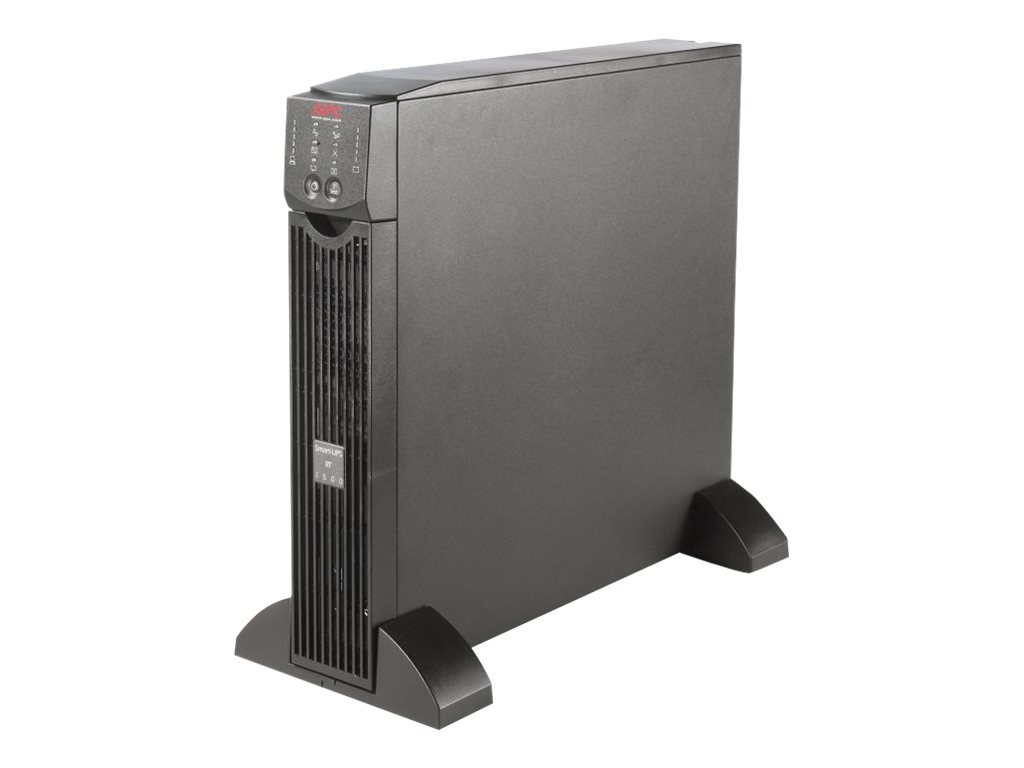APC Smart-UPS RT 1500VA 120V UPS, (6) 5-15R Outlets, Black, SURTA1500XL, 5403634, Battery Backup/UPS