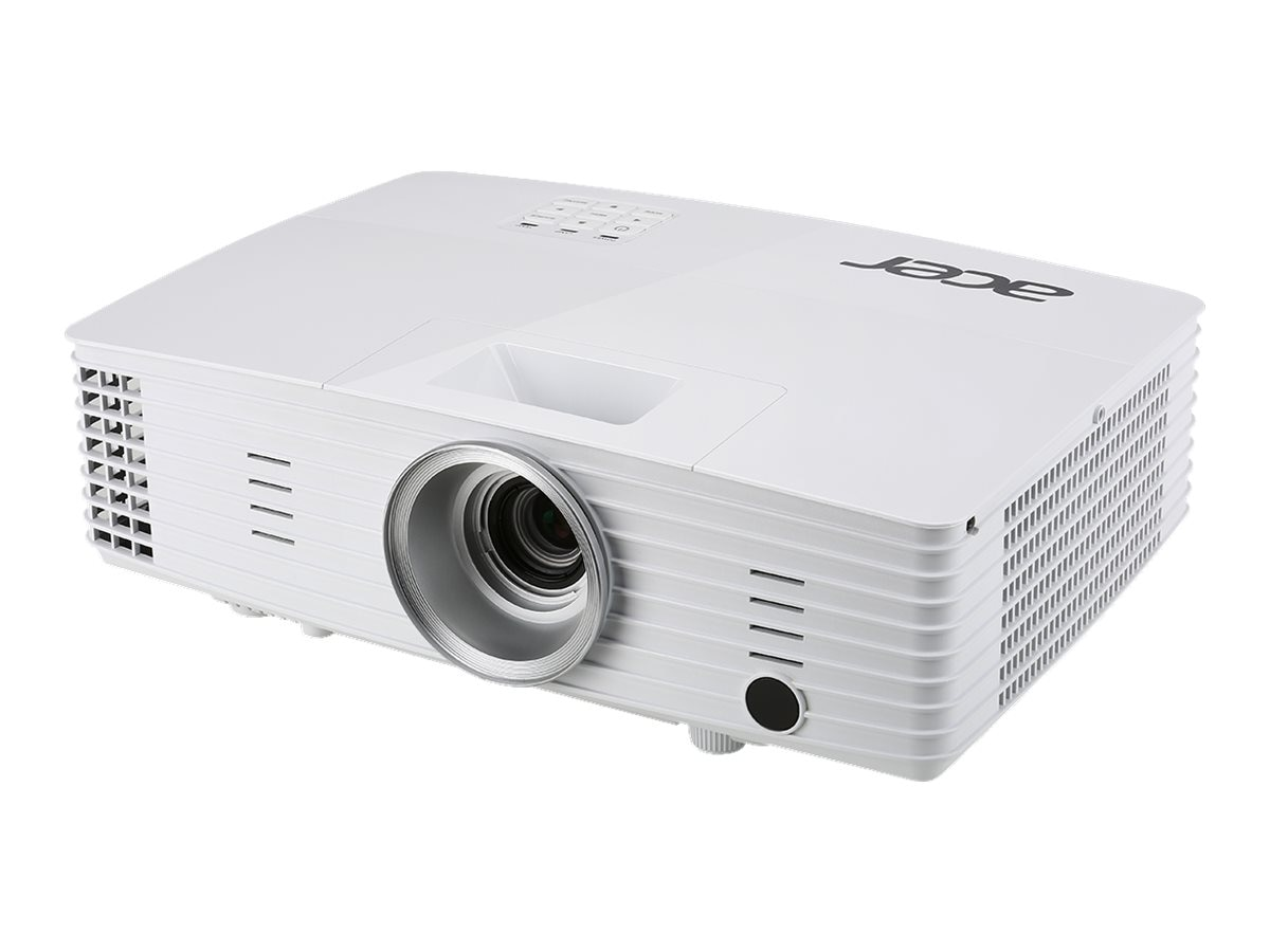 Acer P1185 Large Venue SVGA DLP 3D Projector, 3200 Lumens, White, MR.JL811.009, 30642397, Projectors