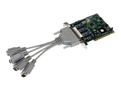 StarTech.com 4 Port Buffered High Speed Intelligent Serial PCI Card, PCI4S9503V