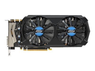 Microstar GeForce GTX 970 PCIe 3.0 x16 Overclocked Graphics Card, 4GB GDDR5, GTX 970 4GD5T/OC, 17881895, Graphics/Video Accelerators
