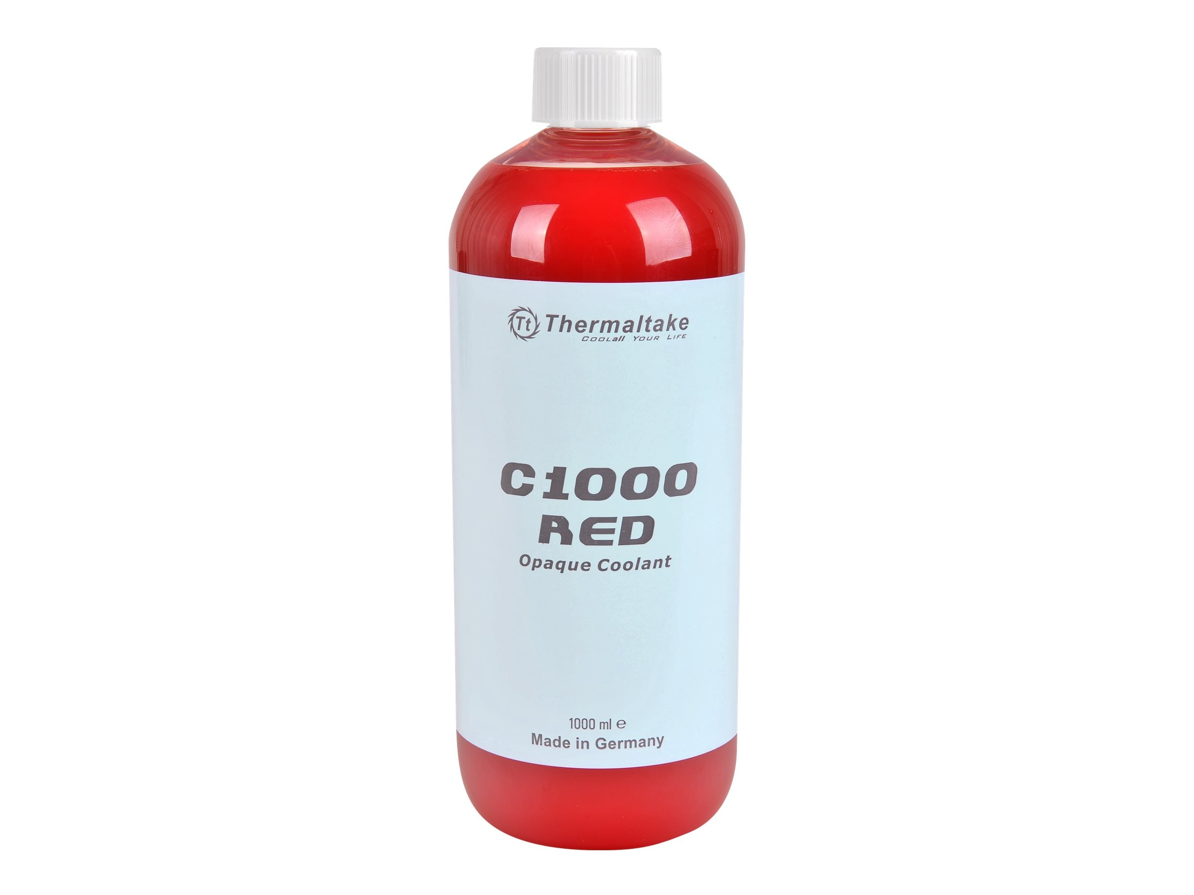Thermaltake C1000 Opaque Liquid Coolant, Red, CL-W114-OS00RE-A, 31583376, Cooling Systems/Fans