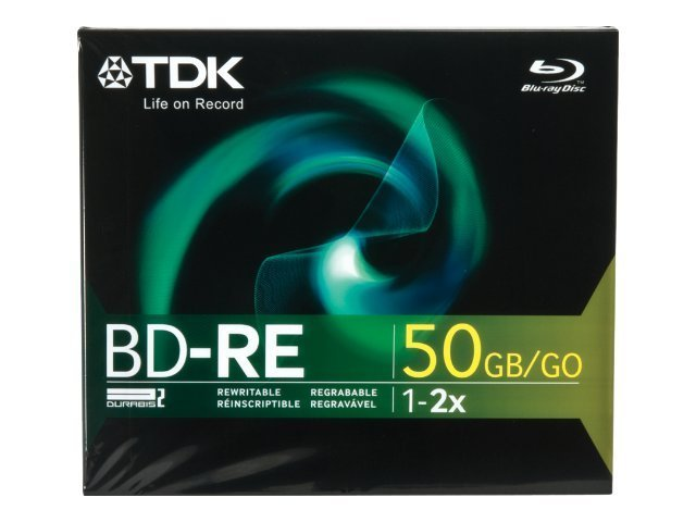Imation 50GB BD-RE DL Disc