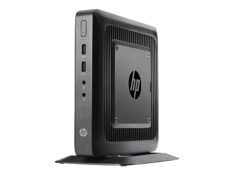 HP Smart Buy t520 Flexible Thin Client AMD DC GX-212JC 1.2GHz 4GB RAM 8GB Flash GbE SmartZero, G9F02AT#ABA, 17666204, Thin Client Hardware