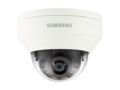 Samsung 4MP Vandal-Resistant Network IR Dome Camera with 2.8mm Lens