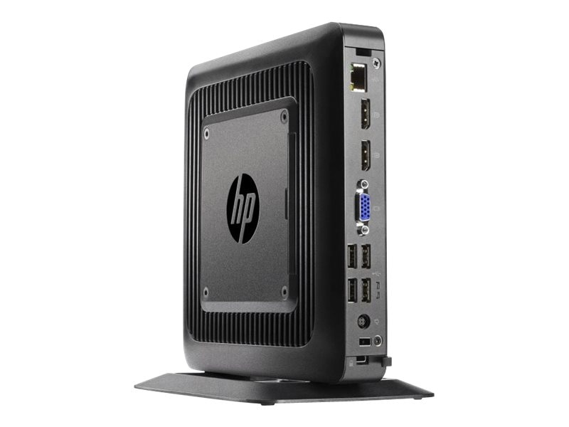 HP t520 Flexible Thin Client AMD DC GX-212JC 1.2GHz 4GB RAM 8GB Flash GbE agn BT SmartZero, J6D57UA#ABA