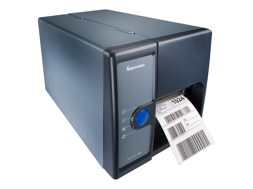 Intermec EasyCoder PD41 Direct Thermal-Thermal Transfer Printer (PD41B, 203 dpi,US EU Cord, Ethernet, PD41BJ1000002020, 11262065, Printers - Bar Code